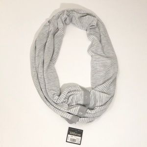 NWT Reversible Snap Infinity Scarf
